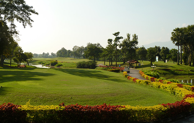 landscape, summit green valley chiang mai country club, chiang mai, thailand