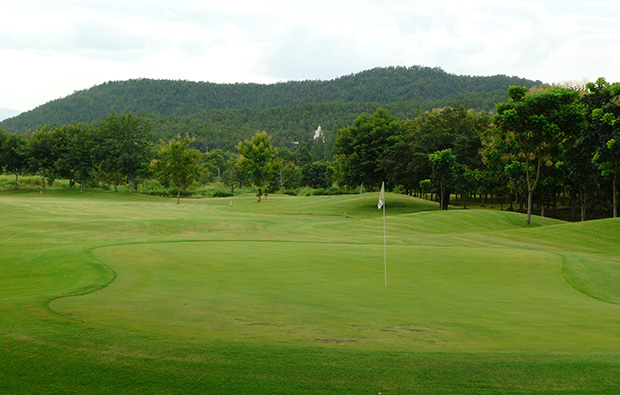 green, gold canyon golf club, chiang mai, thailand