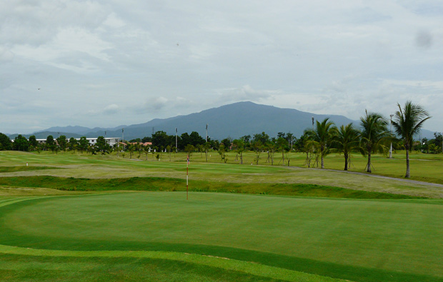 green, north hill chiang mai golf club, chaing mai, thailand