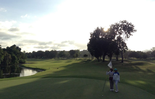The Manila Southwoods Golf Country Club Green